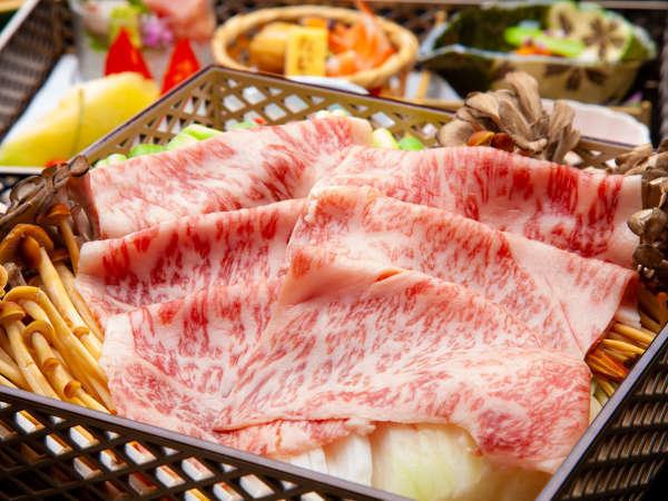 絶品♪特選和牛しゃぶしゃぶ鍋をゆっくり・のんびりお部屋で・ワンランク上の夕食プラン。