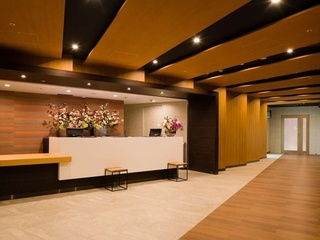 [the hall] The 2F front desk