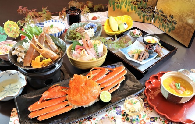 蟹一杯付会席(写真はイメージです) ※当日の仕入れ状況により、料理内容が変更になる場合がございます。
