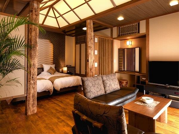 『離れ』神呂木の庄~和樂~ 神秘的な雰囲気と贅沢な空間を演出するプライベートルーム